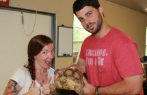 Volunteer at the Reptile Rescue Center